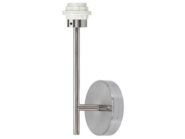 Paulmann 99839 Brushed Nickel Wall Sconce Lamp Fixture And Bulb