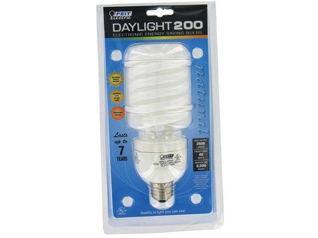 Feit Electric ESL40TN/D 40 Watt Daylight 200 CFL Sprial Bulb