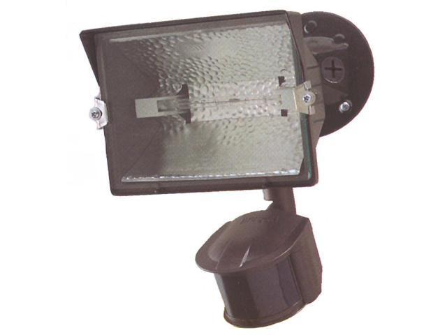 Regent Lighting Bronze Motion Activated Halogen Quartz Flood Lights 300 Watt