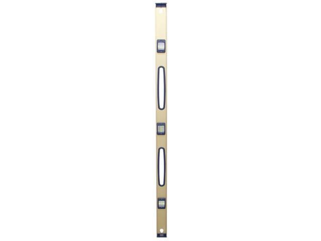 "Mayes 10124 72"" Gold Anodized Aluminum Top View Level"