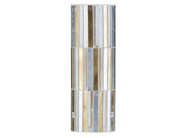 Paulmann 70004 Gold & Silver Fabro Interchangeable Lamp Shade