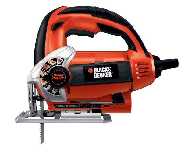 Black & Decker Power Tools JS660 Jig Saw With Smart Select Dial