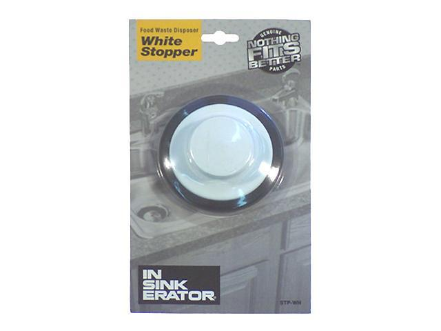 Insinkerator STPWH White Garbage Disposer Stoppers