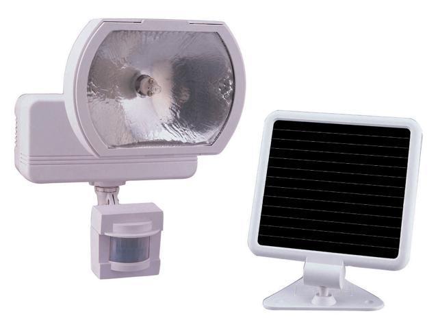 Heathco White Solar Powered Motion Sensor Light