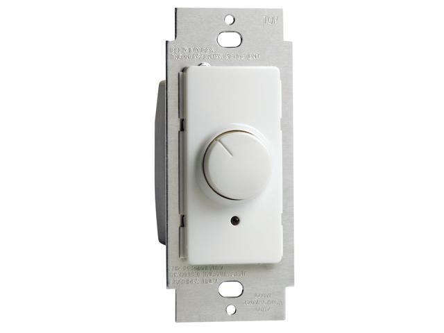Leviton 100-RPI06-1LX IllumaTech™ Rotary Incandescent Dimmer