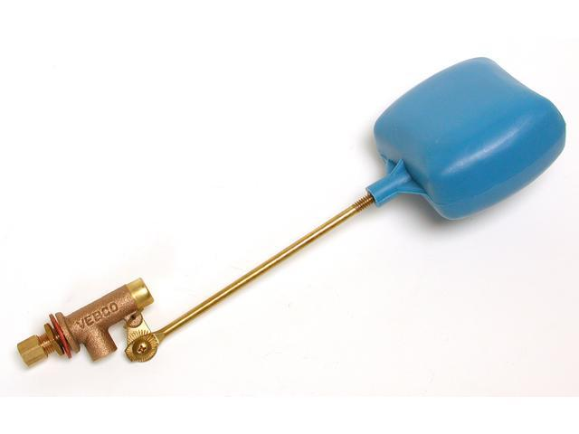 """Dial Manufacturing 4159 1/4"""" Heavy-duty Bronze Compression Float Valve"""