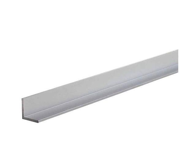 "MD 60897 1-1/2"" X 48"" Mill Aluminum Equal Leg Angle Bar Stock"