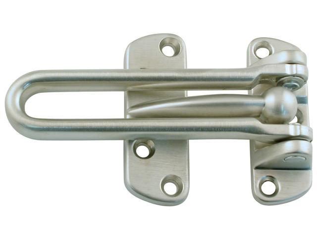 Ultra Hardware 29009 Satin Nickel Swing Bar Door Guard
