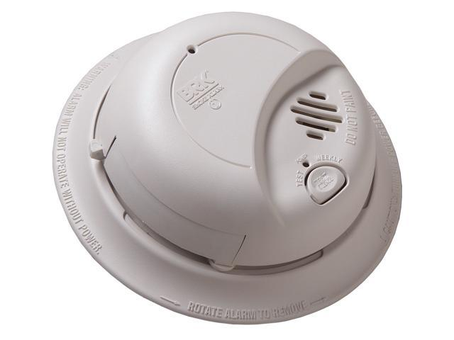 First Alert 9120 Hardwired Smoke Alarm with Battery Backup, Single