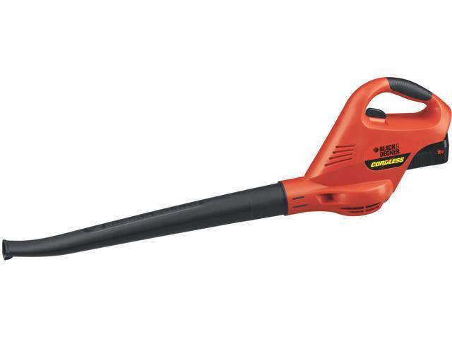 Black Amp Decker Lawn Amp Garden Ns118 18 Volt Cordless Broom