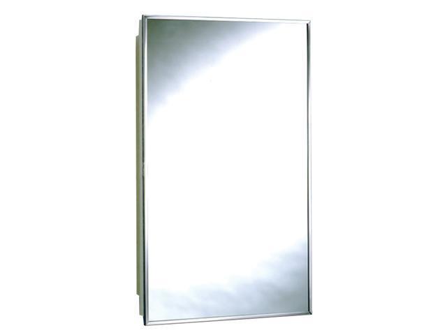 Zenith 105 Stainless Steel Frame Mirrored Swing Door