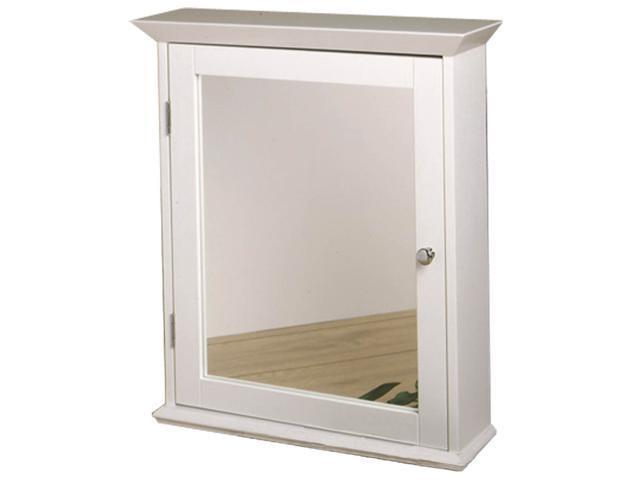 Zenith Ww2026 Classic White Medicine Cabinet With Mirrored