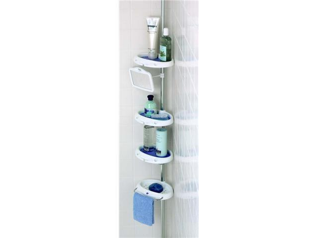 Zenith 5804B Bathtub & Shower Corner Caddy