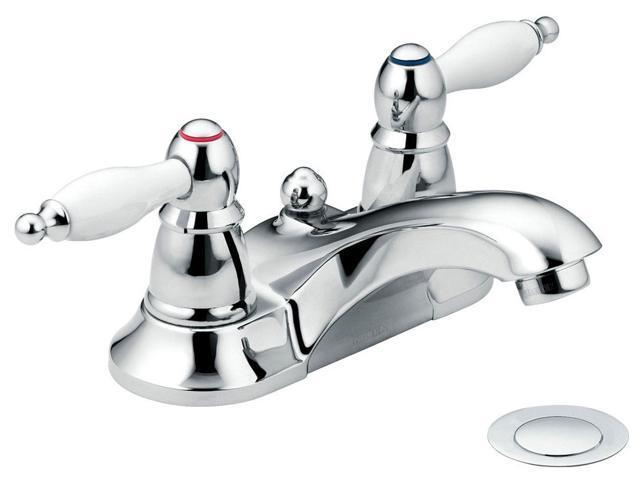 Moen CA84429 Two Handle Low Arc Lavatory Faucet