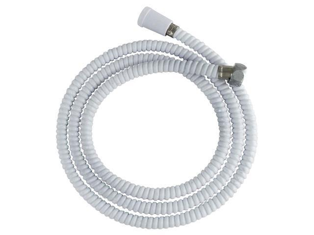 """LDR 520-2400W 72"""" Replacement Shower Hose - White"""