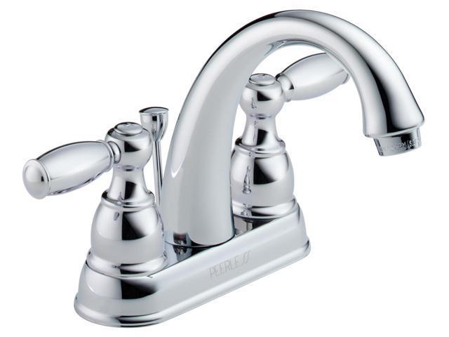 Delta Faucet Company : Delta Faucet Company P99695LF Two Handle Centerset Lavatory Faucet ...
