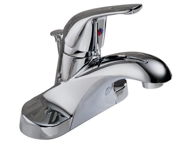Delta Faucet Company : Delta Faucet Company P88620LF Single Handle Lavatory Faucet Chrome ...