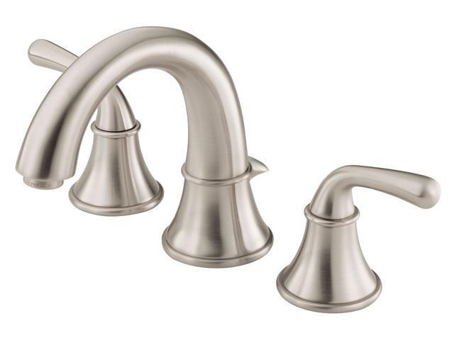 Danze D304056BN Bannockburn Double Handle Low Lead Lavatory Faucet Brushed Nickel