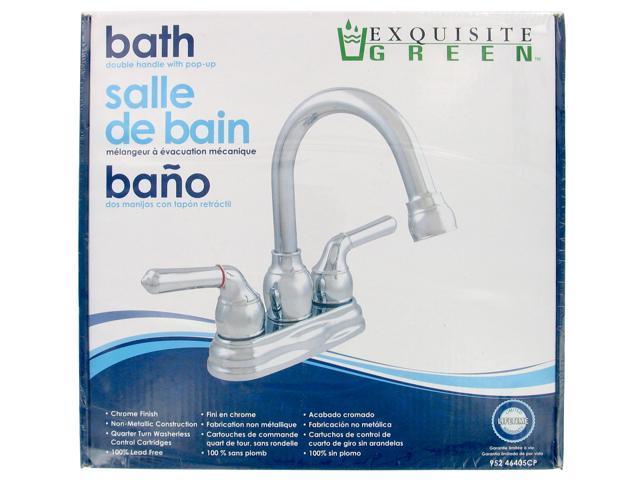 LDR 952-46405CP Two Handle Low Lead Lavatory Faucet