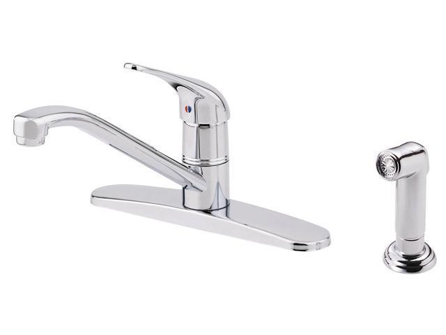 Danze D407012 Melrose Single Handle Kitchen Faucet