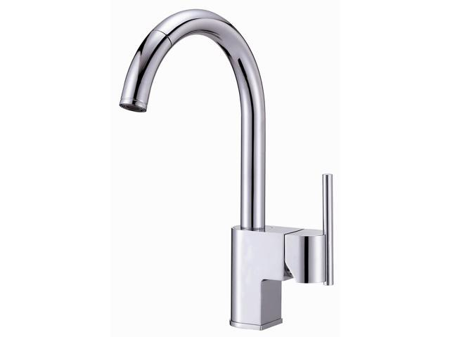 Danze D457144 Como Design Pull Down Kitchen Faucet - Chrome