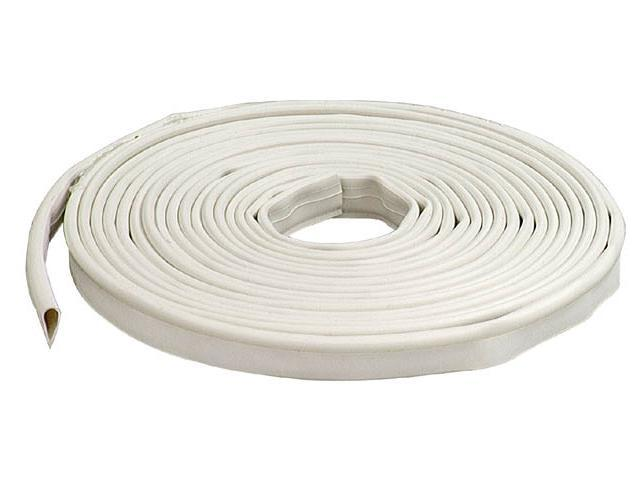 Gasket Door Sili 1/2X20' Wht M-D Building Products Doorstops 68676 White