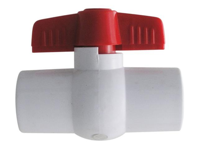 "LDR FP4 BV-2 2"" PVC Ball Valves Non-Threaded"