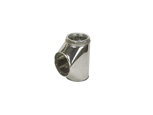 Selkirk Metalbestos 6T-IT Insulated Tee With Plug Stainless