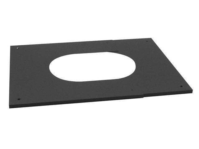 """Selkirk Metalbestos 6T-PCPAJ 6"""" Adjustable Pitched Ceiling Plate"""