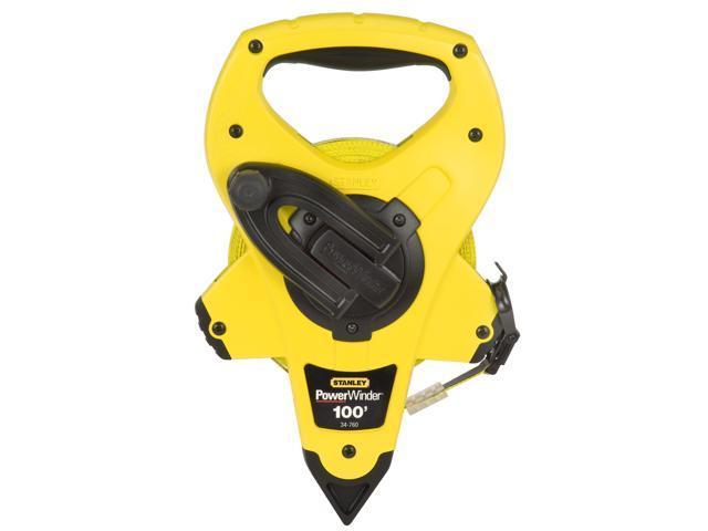 Stanley Hand Tools 34-760 100' PowerWinder™ Open Reel Long Measure Tape