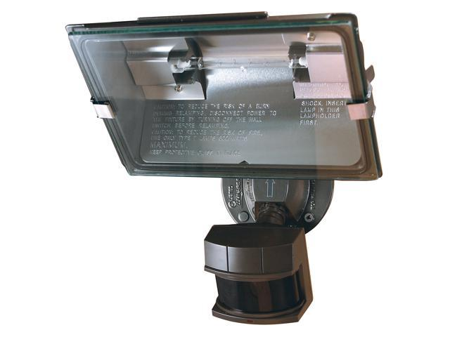Heathco Bronze Bronze Professional Dual Brite Motion Sensor Quartz Security Light