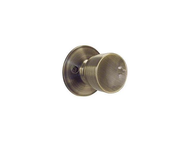 Schlage F10VBEL609 Blackened Satin Brass Bell Knob Passage Set