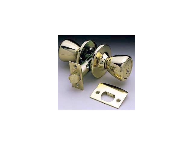 Ultra Hardware 44045 Polished Brass The Rittenhouse Bed & Bath Lockset