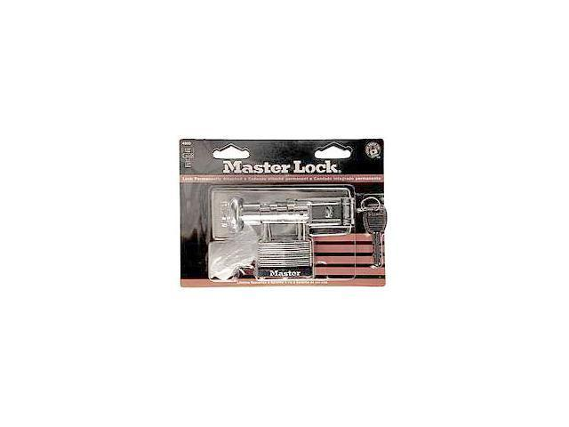 Master Lock 475D Padlock & Hasps