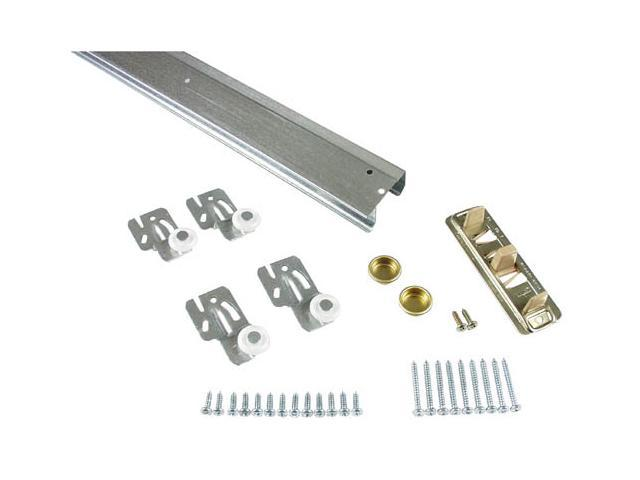 """STANLEY NATIONAL HARDWARE 60"""" Aluminum By-Pass Complete Packaged Contractor Set"""