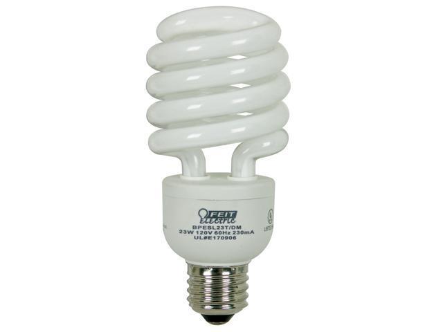 Feit Electric BPESL23T/DM 23 Watt Compact Fluorescent Light Mini Twist Dimmable 100 Watt Replacement Bulb