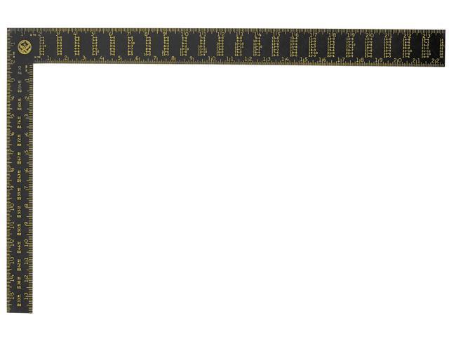 """Stanley Hand Tools 45-011 24"""" Premium Aluminum Rafter Square"""