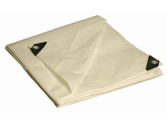 Foremost Tarp 31015 10' X 15' White Heavy Duty Tarp