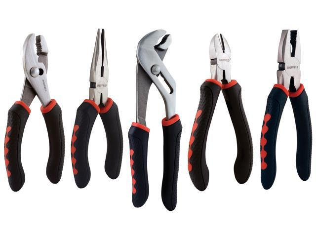 GREAT NECK SAW 5 Piece Pliers Set