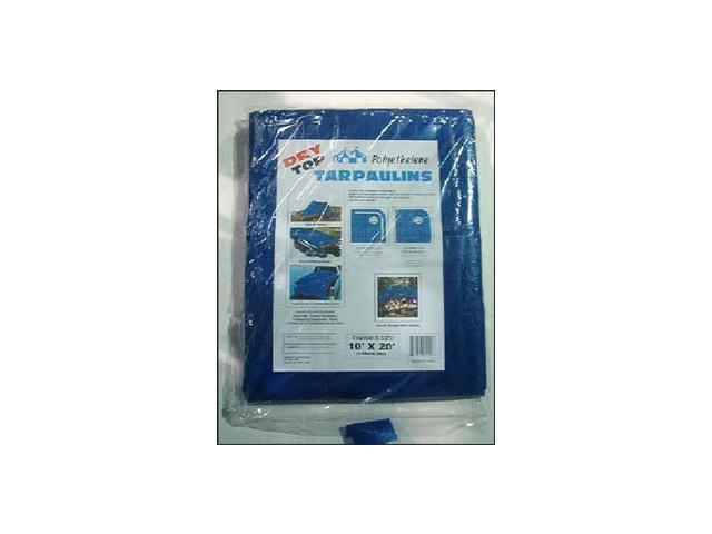 Dry Top Tarpaulins 04060 40' X 60' Blue Dry Top  Polyethylene Tarpaulin