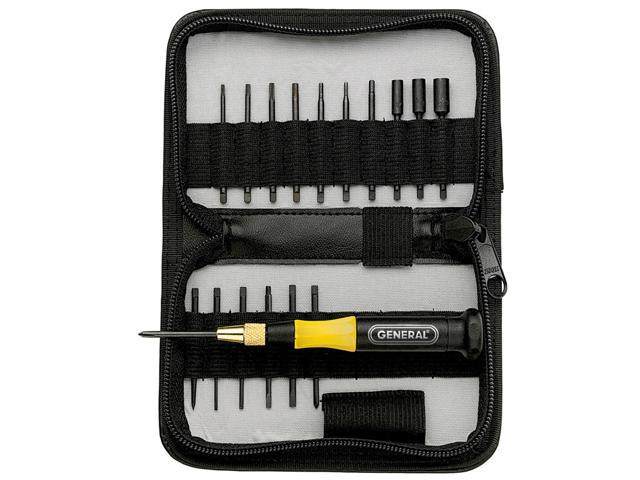 General 63518 18 Piece Precision UltraTech Screwdriver Set