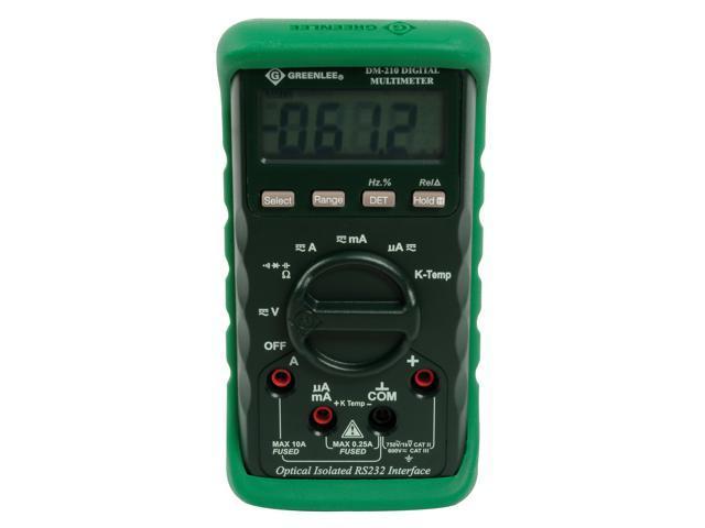 Greenlee Textron DM-200A 600 Volt Digital Multimeter