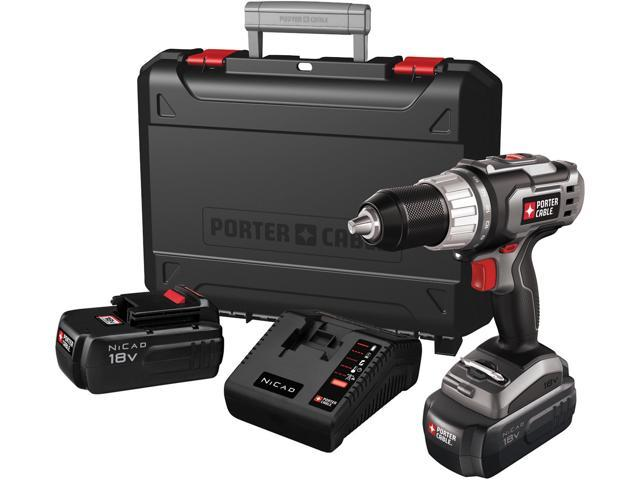 Porter Cable PC180DK-2 18 Volt Drill Driver Kit