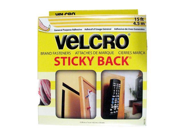 """Velcro 90276B 3/4"""" X 15' Black Sticky Back® Tape"""