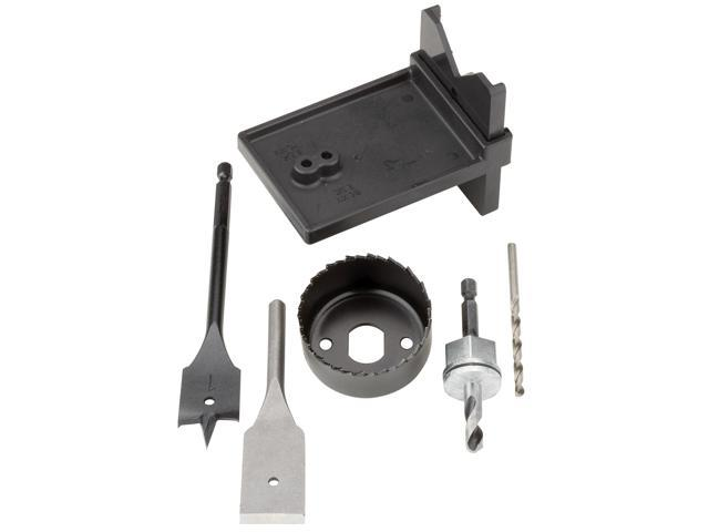 "Vermont American 18331 2-1/8"" Complete Lock Installation Kit"