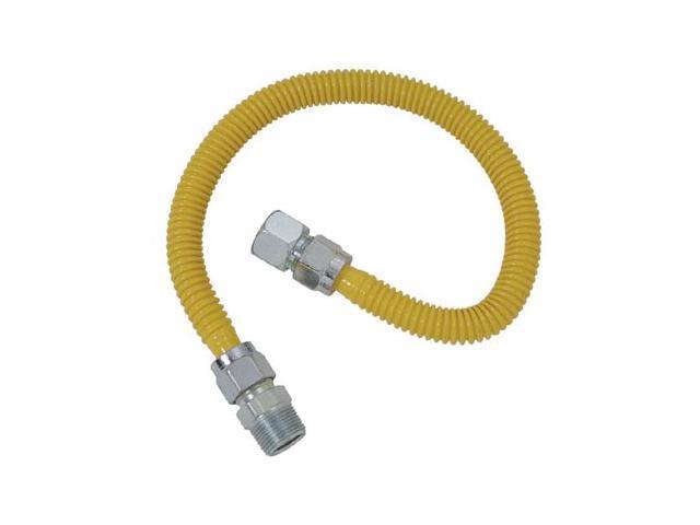 "Cobra Plumbing CSSC54-24P 24"" Stainless Steel Gas Range Connector"