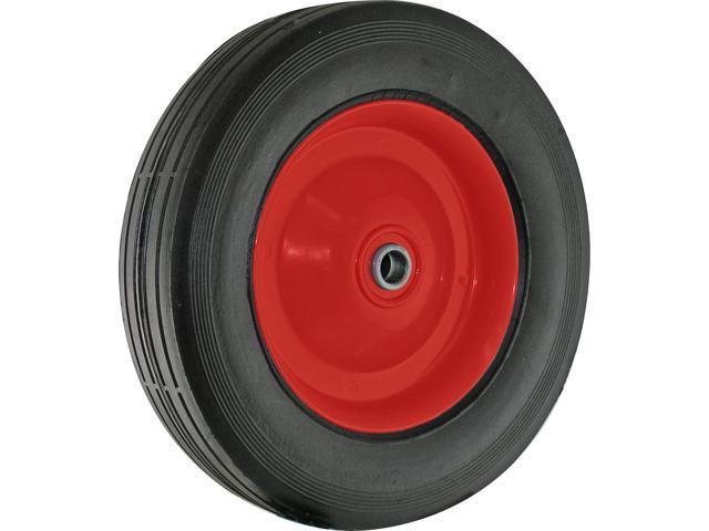 "Shepherd 9636 8"" X 1-3/4"" Metal Hub Semi Pneumatic Rubber Tire"