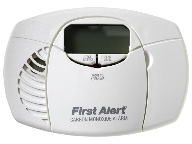 First Alert Battery-Powered Carbon Monoxide Alarm with Digital Display