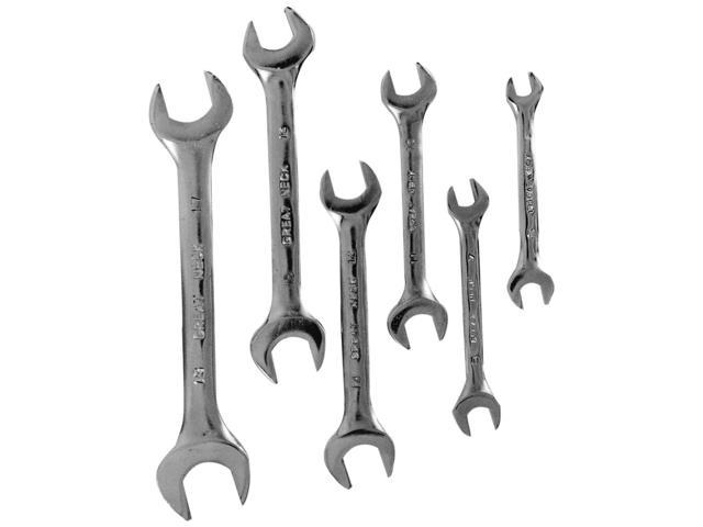 Great Neck MM66K Open End Wrenches Metric 6 Piece Set