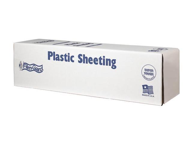 Covalence Plastics CLO812 12X400 12' X 400' 0.7 ML Painter Clear Plastic Sheeting